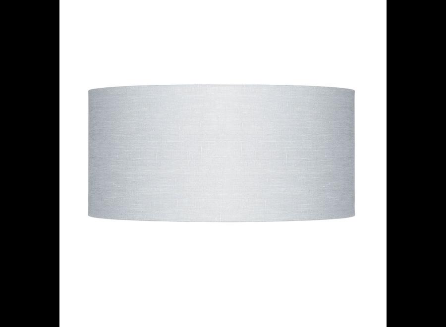 Enkel de lampenkap eco linnen Large/ lichtgrijs