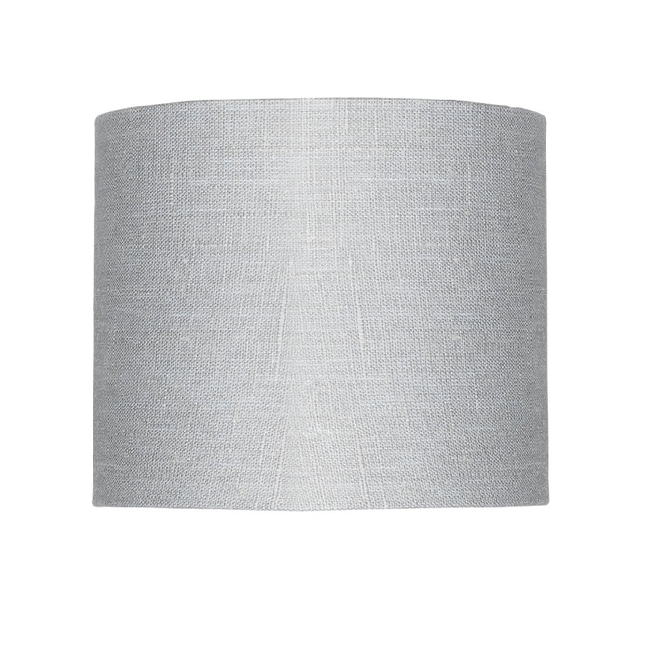 Enkel de lampenkap eco linnen Small/ lichtgrijs