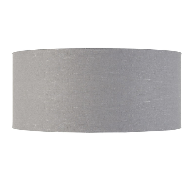 Enkel de lampenkap eco linnen XL/ lichtgrijs