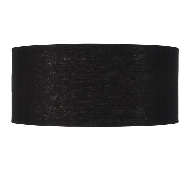 Enkel de lampenkap eco linnen XL/ zwart