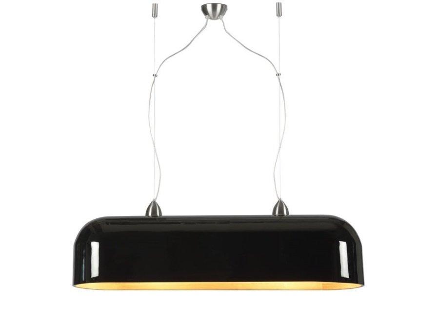 Hanglamp Halong ovaal zwart