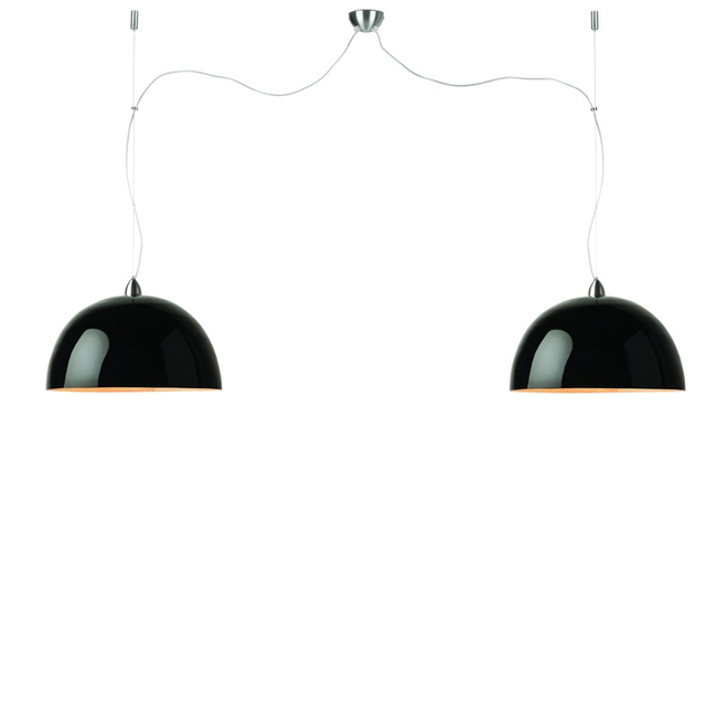 Hanglamp Halong zwart - DUBBEL