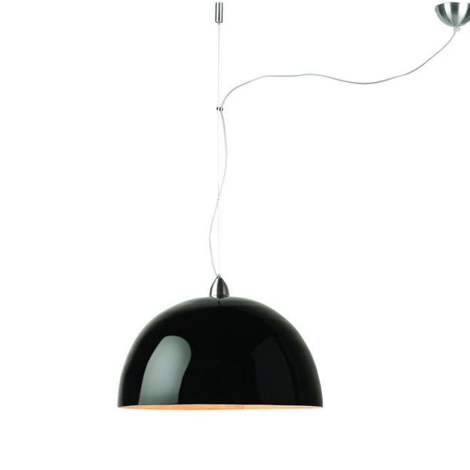 Hanglamp Halong zwart- ENKEL