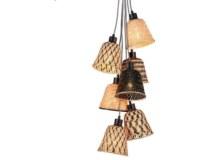 Hanglamp Kalimantan 7-kap