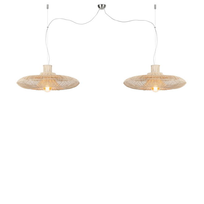 Hanglamp Kalahari DUBBEL L