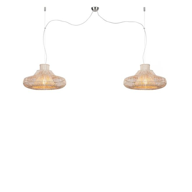 Hanglamp Kalahari DUBBEL S