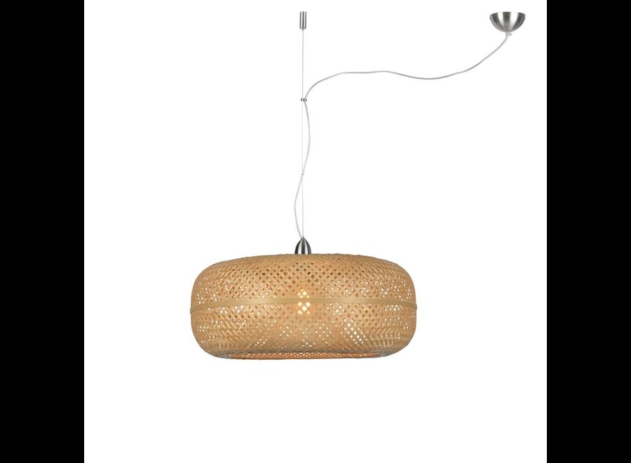 Hanglamp Palawan naturel - enkel