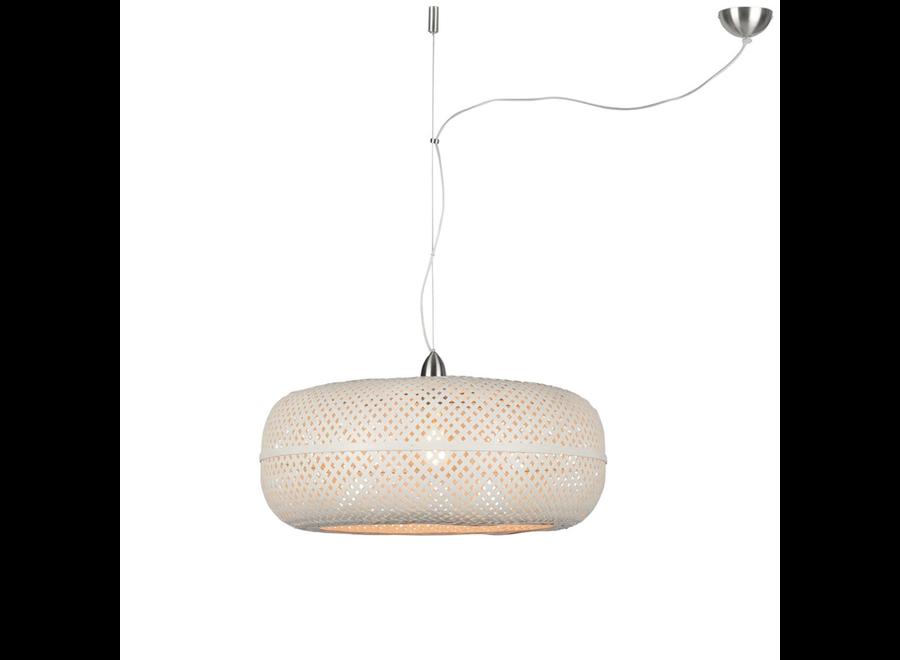 Hanglamp Palawan wit - enkel