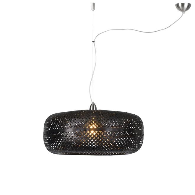 Hanglamp Palawan zwart- enkel
