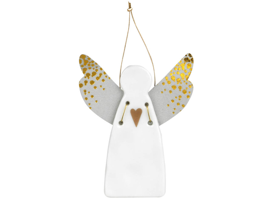 Guardian angel MINI hart goud