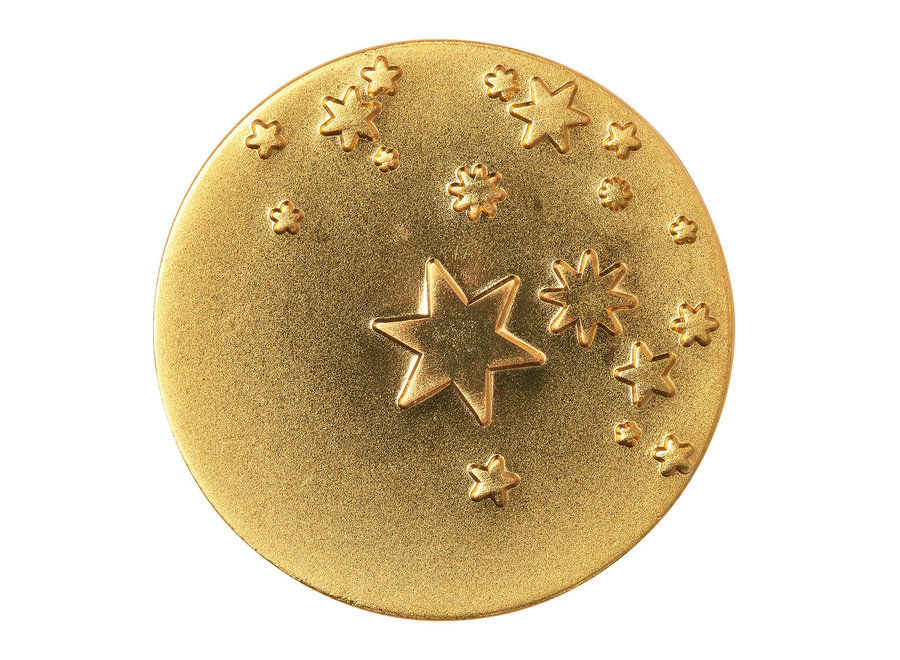 New years Eve Piece of gold stars