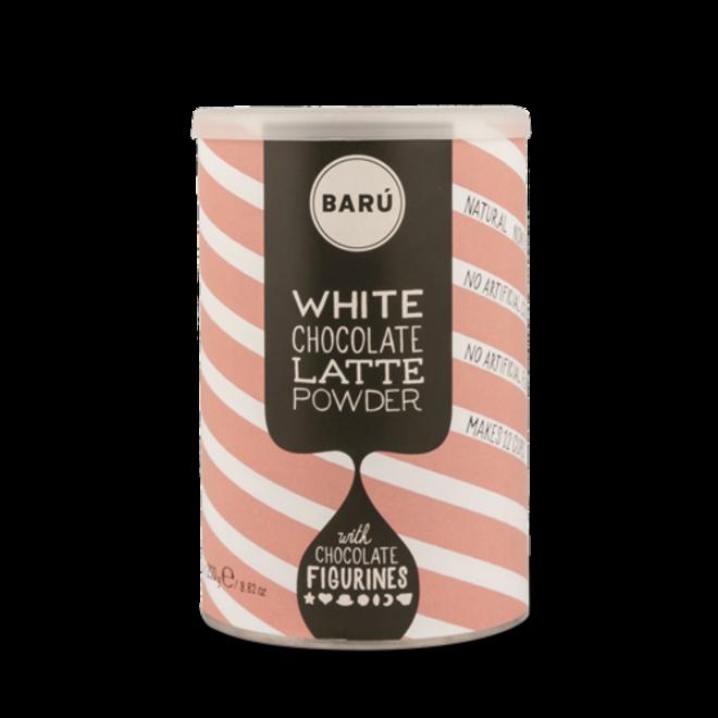 BARU Hot Chocolate witte chocolade Latte 250 gr