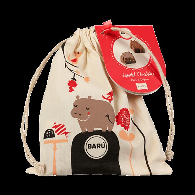 BARU Hippo Dreamy Hippos Assorted Chocolates zakje 90g