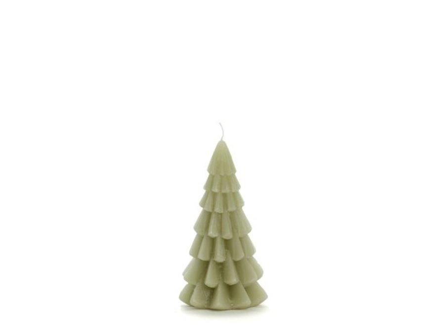 Kerstboom kaars klein - EUCALYPTUS