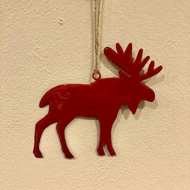 Ornament rendier L - ROOD
