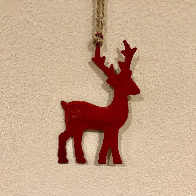 Ornament hert - ROOD