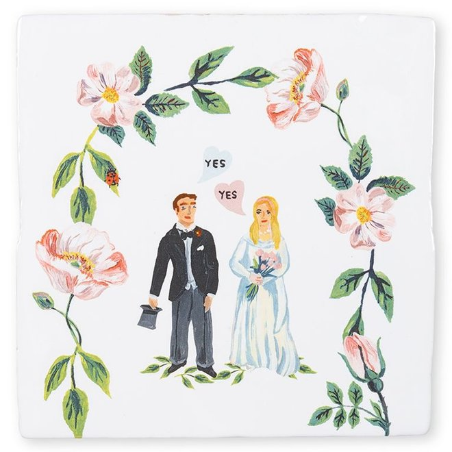 She said yes|Tiles|Small