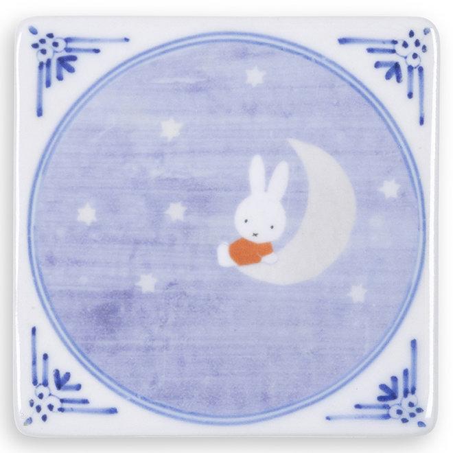 Miffy on the moon - Mini magneet