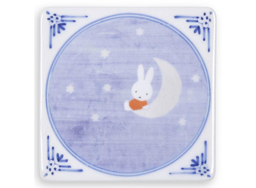 Miffy on the moon|Mini|6x6cm