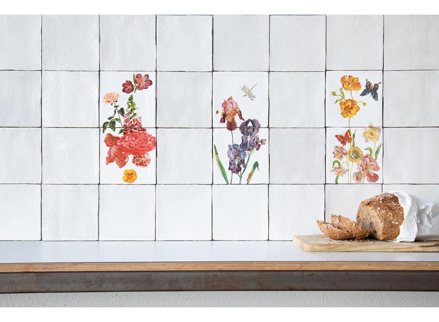 Wildflowers Tile Tableau Medium