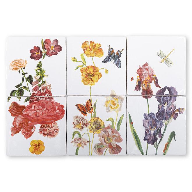 Wildflowers - Tile Tableau - Small