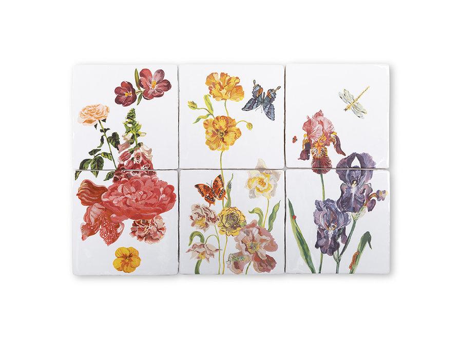 Wildflowers|Tile Tableau|Small