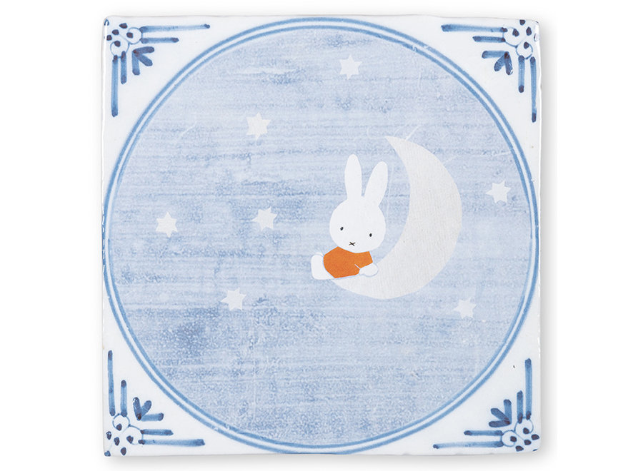 Miffy on the moon|Tiles|Small