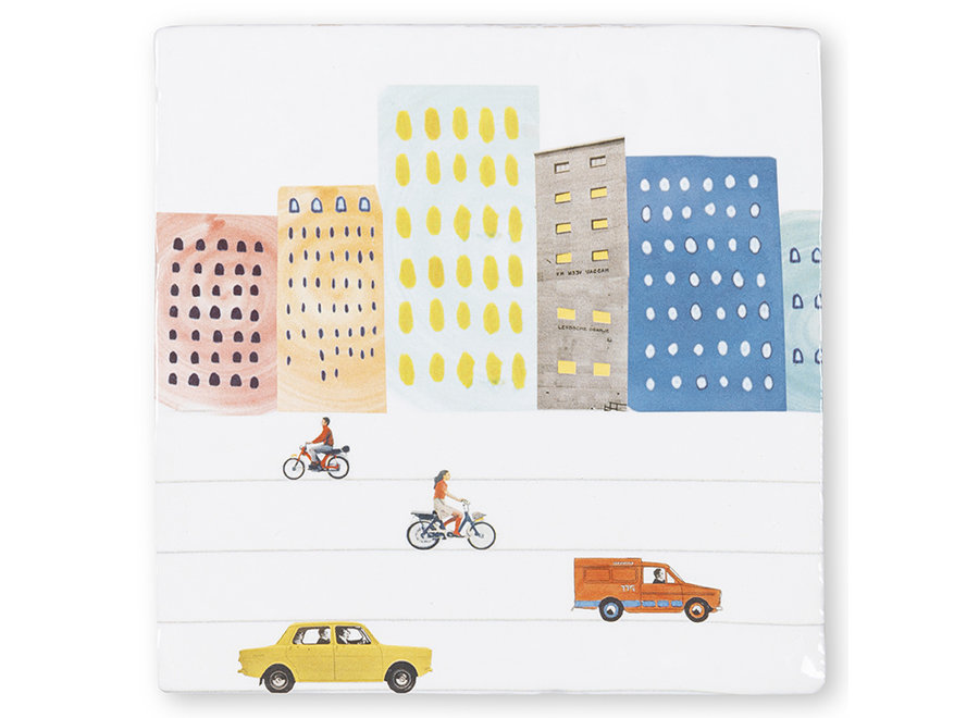 City life|Tiles|Small
