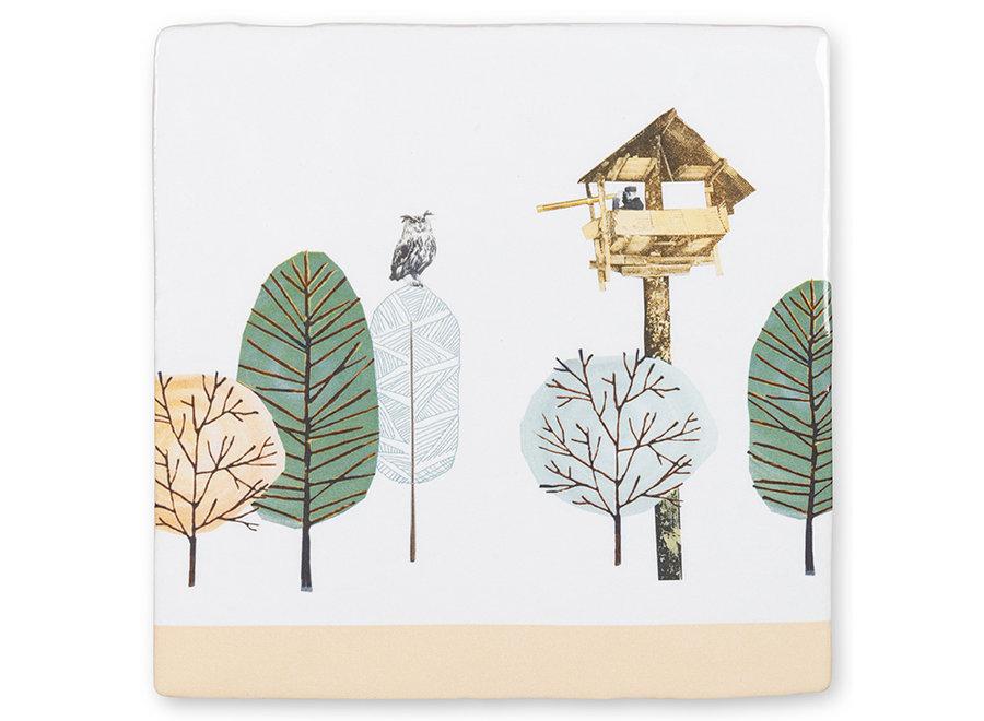 Birdwatcher|Tiles|Small