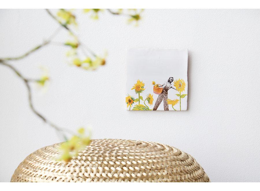 SunFlower Power|Tiles|Medium