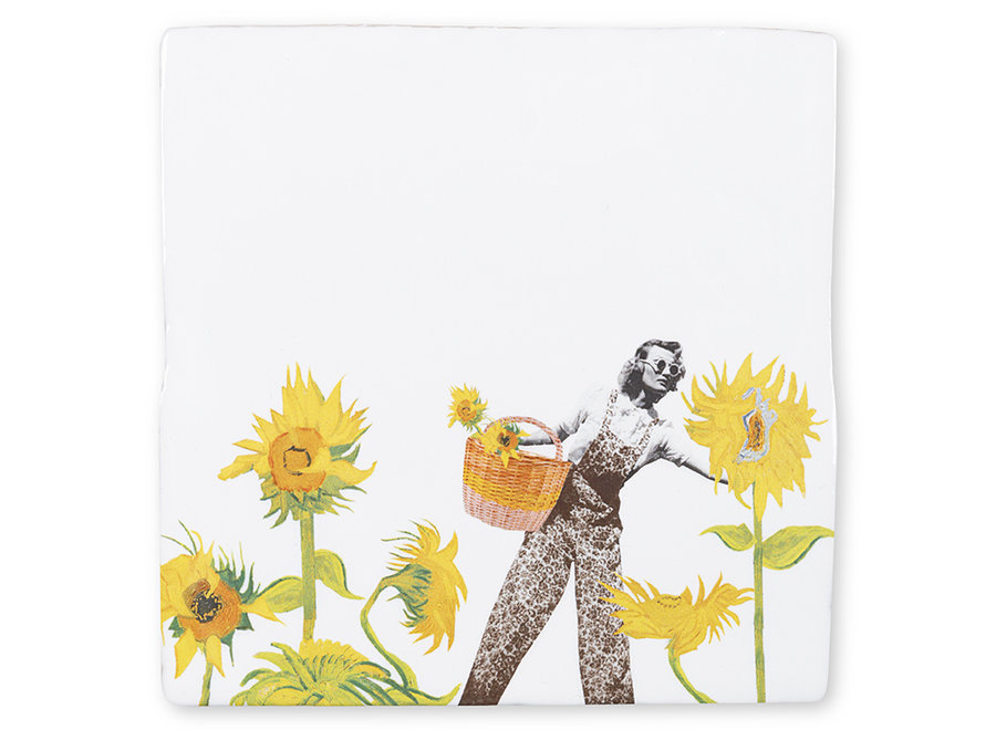 SunFlower Power|Tiles|Small