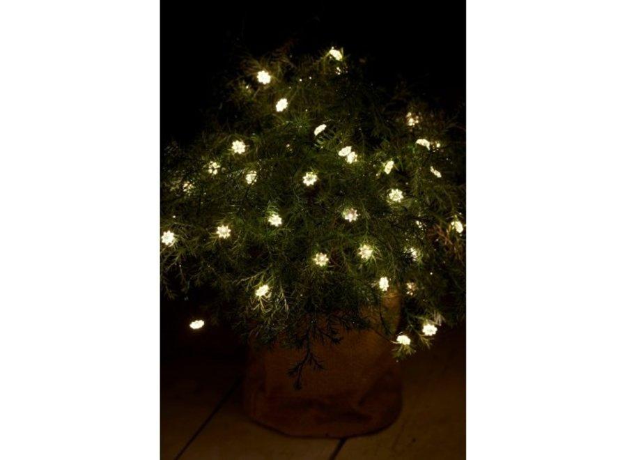 LED lichtjesslinger Silke 40lampjes