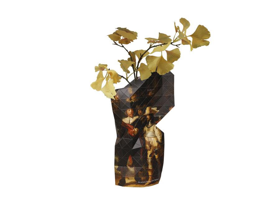 Paper Vase Cover Nightwatch Rembrandt