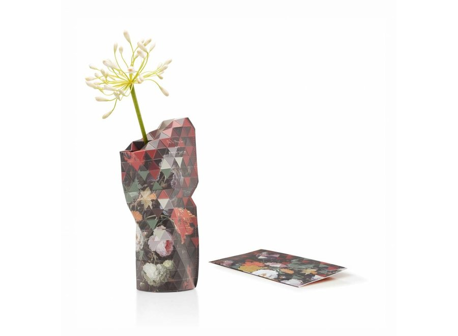 Paper Vase Cover SMALL Still Life Flower