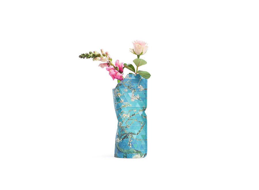 Paper Vase Cover SMALL Almond Blossom