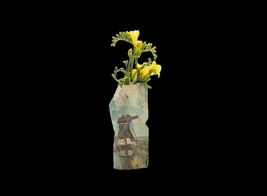 Paper Vase Cover SMALL Windmill - Gabriël