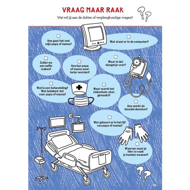 Ziekenhuisklets (6+)