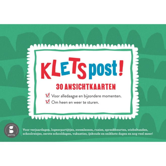 Kletspost (30 ansichtkaarten)