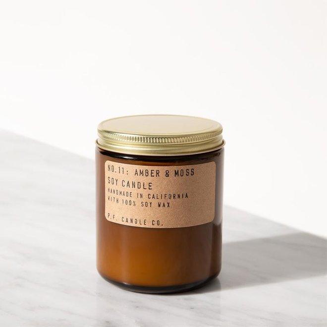 PF Candle - NO. 11 Amber & Moss