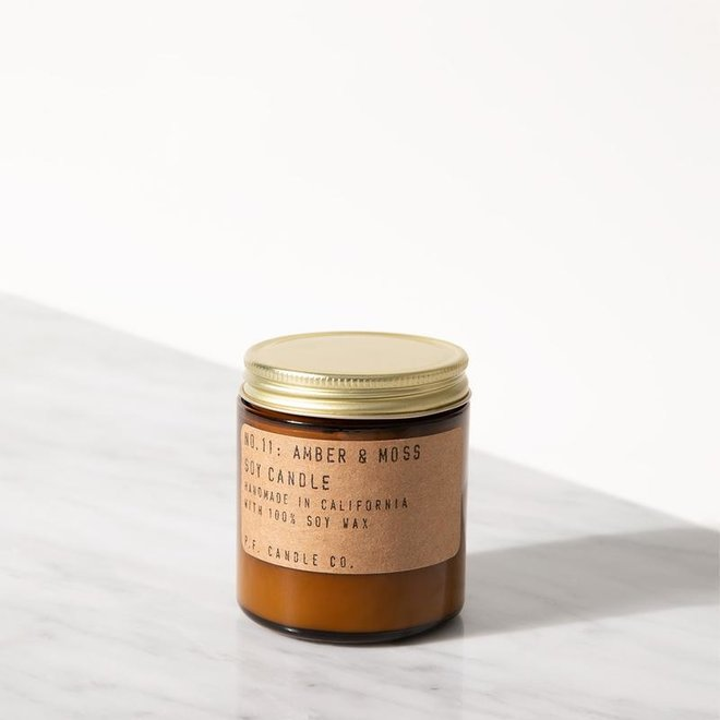 PF Candle - NO. 11 Amber & Moss small