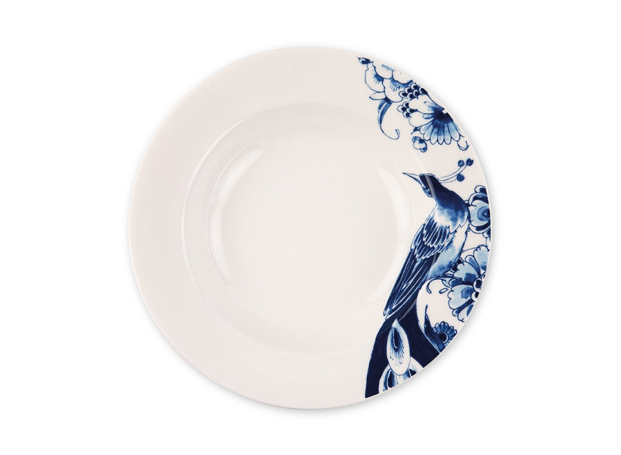 Royal Delft Peacock - Diep bord