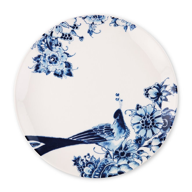 Royal Delft Peacock - Dinerbord coupe