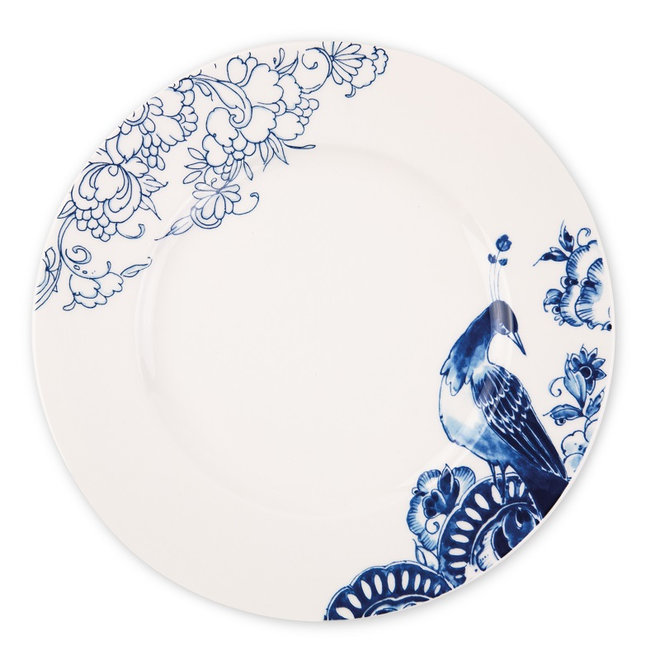 Royal Delft Peacock - Dinerbord