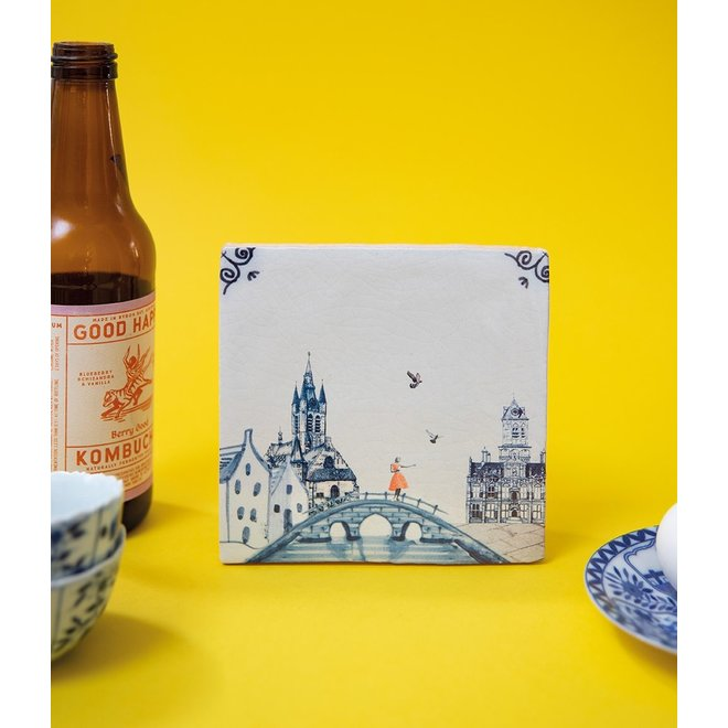 StoryTiles - Delfts blauw - Small