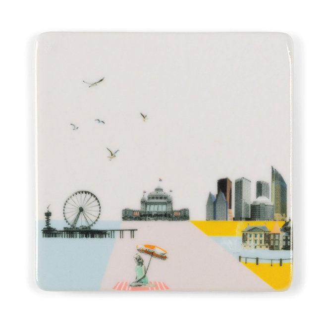 Mooi Den Haag - Mini magneet