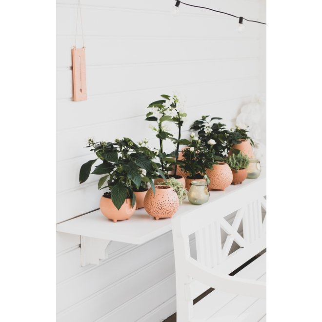OUTDOOR - bloempot terracotta small