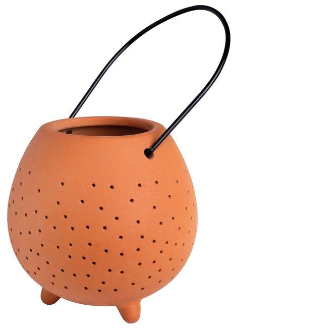 OUTDOOR - lantaarn terracotta small