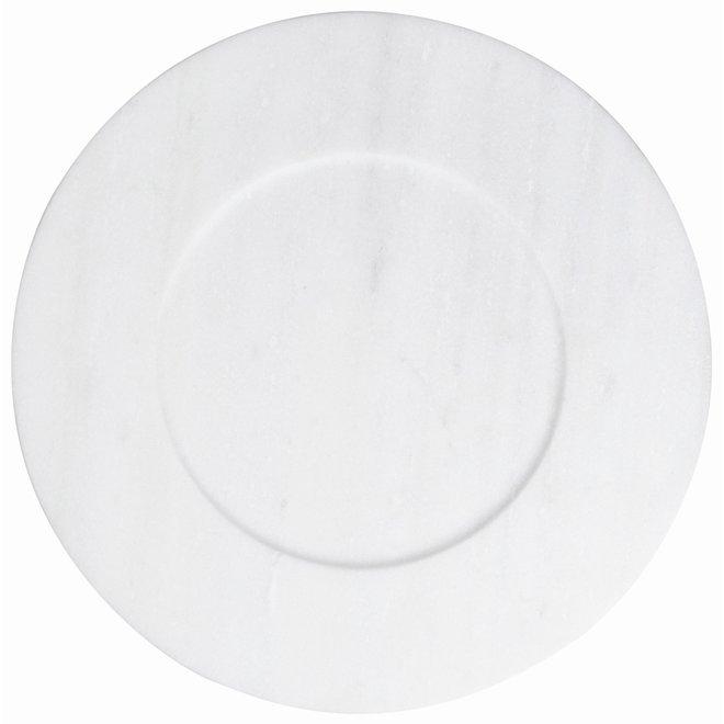 Marmeren cake bord met losse schaal