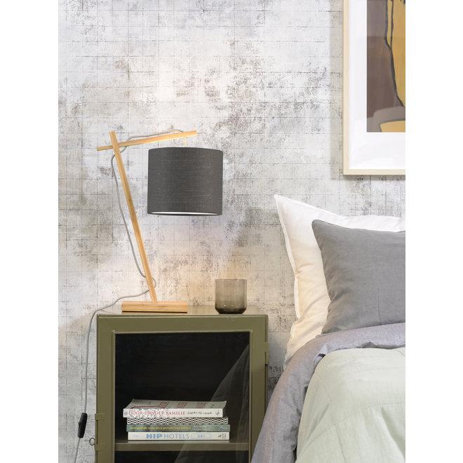 Tafellamp Andes - naturel/ kap donkergrijs