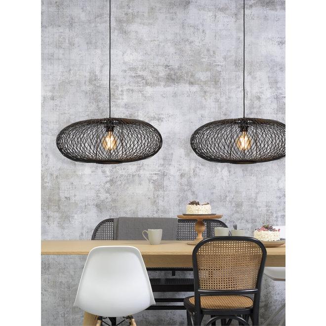 Hanglamp Cango - ellips zwart